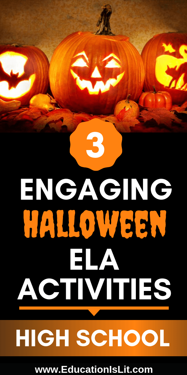 Halloween Lesson Plans