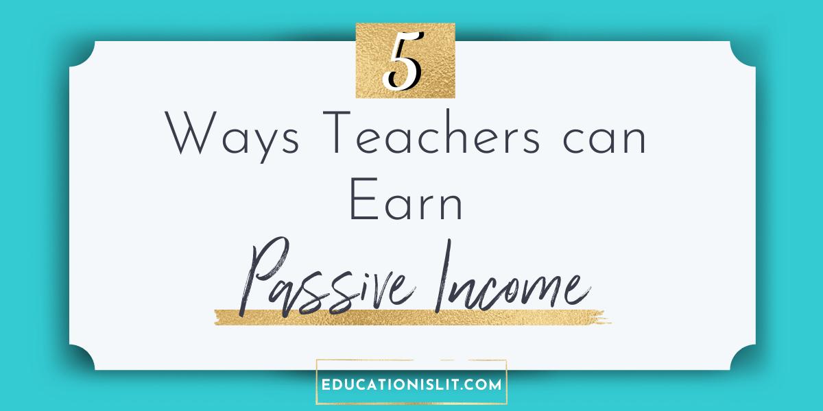side job ideas for teachers blog header