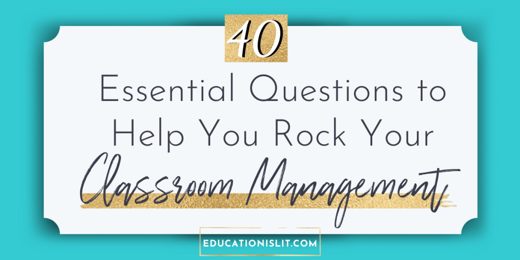 classroom management strategies for high school blog header