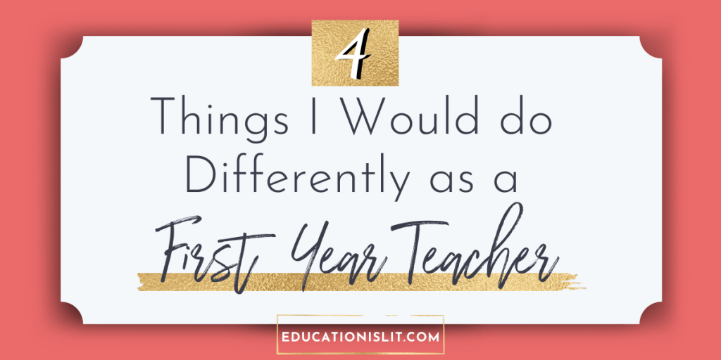 tips and advice for first year teachers blog header