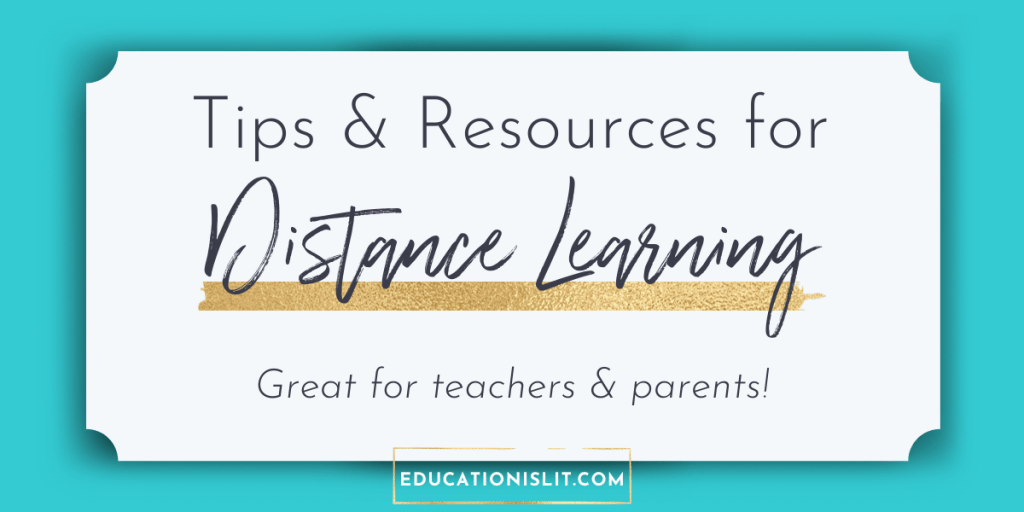 distance learning tips and resources for teachers