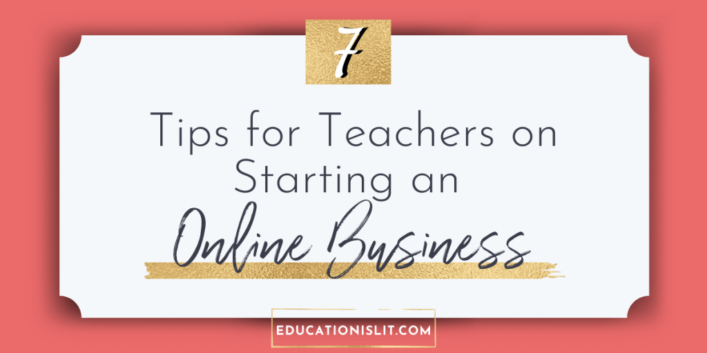 work from home ideas for teachers blog header
