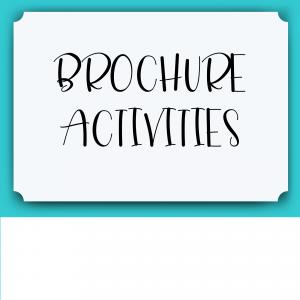 Brochure Activities
