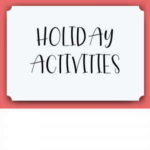 Holiday Lesson Plans