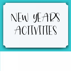 New Years Lesson Plans