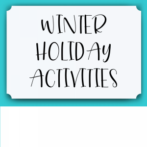 Winter Holiday Lesson Plans